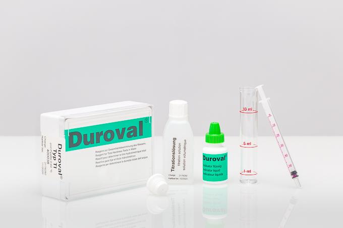 DUROVAL® TI mit Pipette 0-60°f