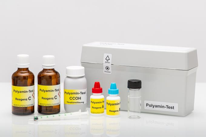 Polyamin-Testbesteck