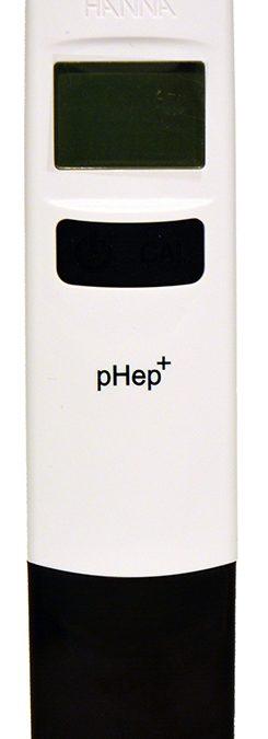pH tester pHep+