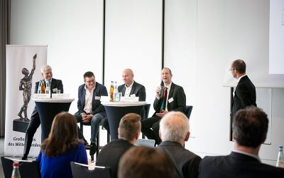 """Jörg-Tilman Heyl spoke at the Dialogue Day for the """"Network of the Best"""""""