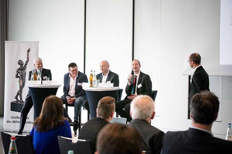 Jörg-Tilman Heyl sprach auf dem Dialogtag im Netzwerk der Besten